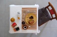 Sweet table breakfast