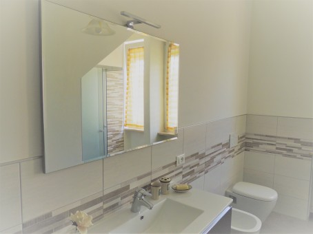 Verde bagno specchio